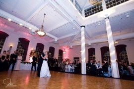 High ceilings and large dance floor at The Great Room