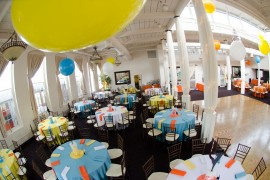 Bat Mitzvah party at The Great Room at Savage Mill