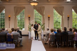 Getting Married at The Great Room at Savage Mill