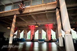Dance Floor at The Great Room at Savage Mill