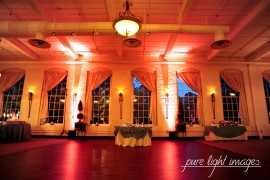 Dance Floor Lighting at The Great Room at Savage Mill